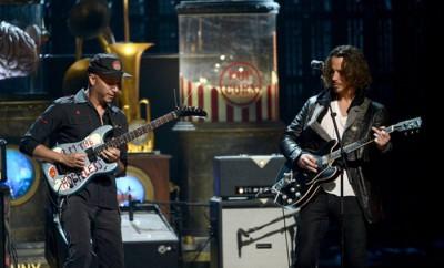 Tom Morello Chris Cornell